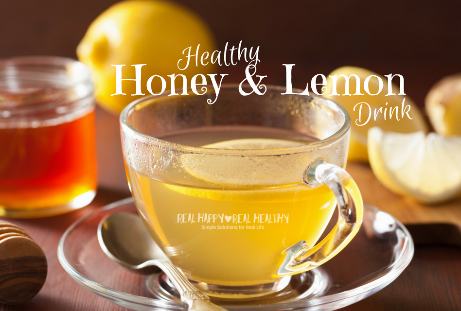 Healthy Honey & Lemon Drink