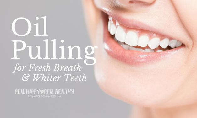 Oil Pulling for Whiter Teeth